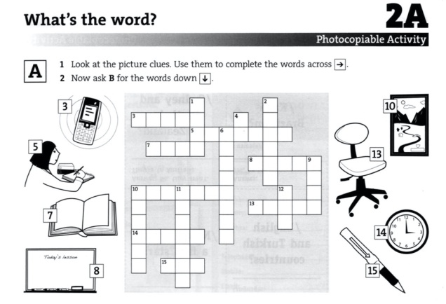 crossword english result